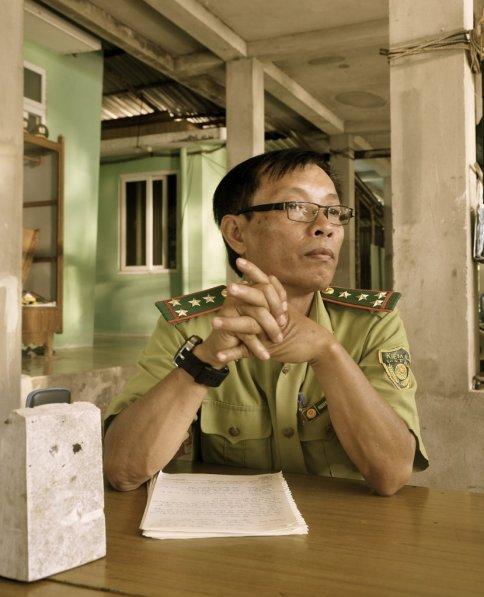 Chú Anh - Ảnh chụp bởi chị: Thu Hiền (TNV)
